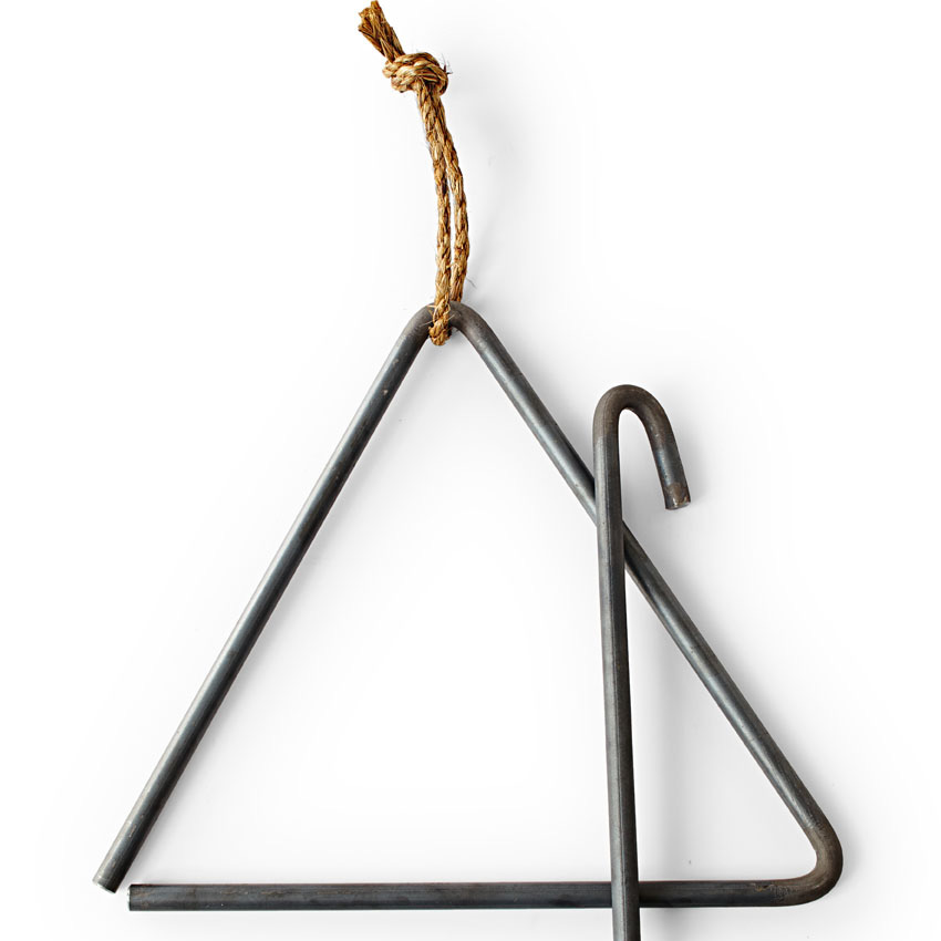 Iowa Metal Art triangle