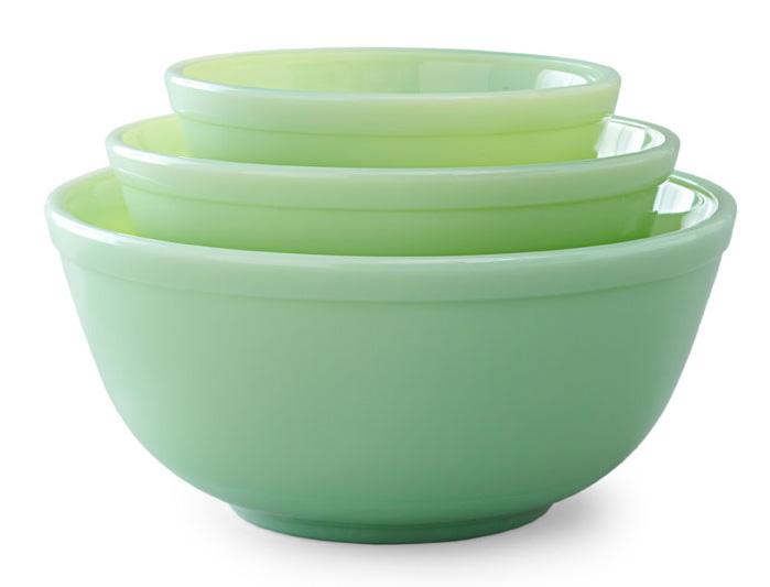 Mosser Glass mixing bowls