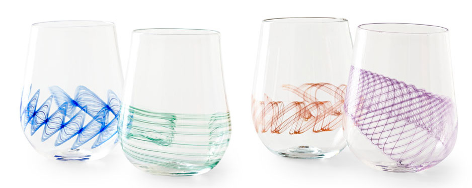 Frost Glass wine glasses