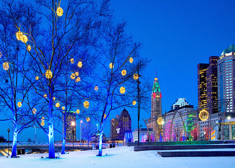 The Scioto Mile—Grand Illumination