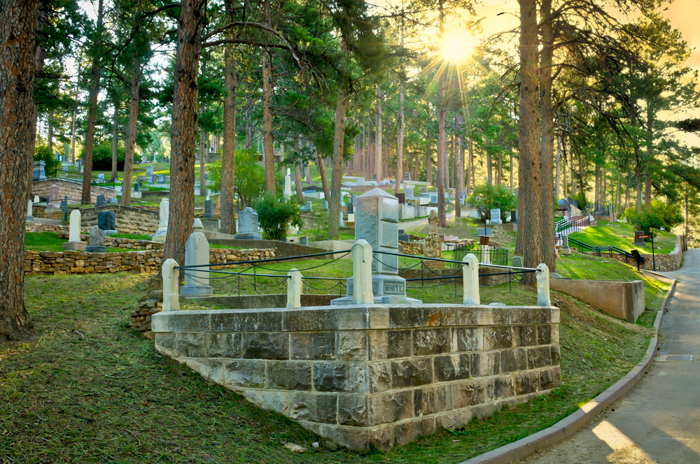Mt. Moriah Cemetery. Courtesy of Chad Coppess/SD Tourism.