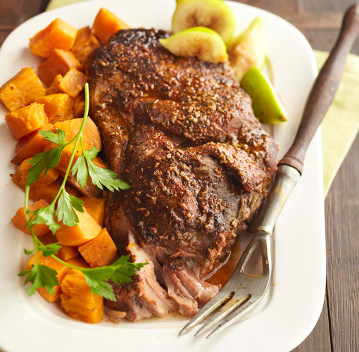 Italian Pork with Sweet Potatoes