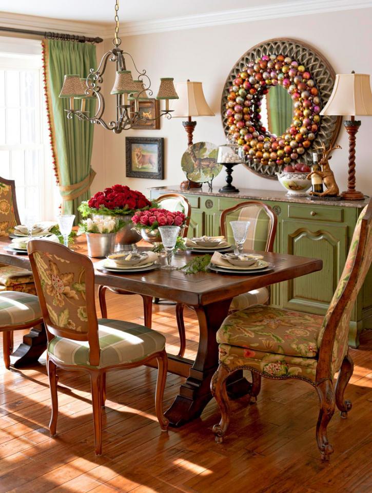 Dining room glitz