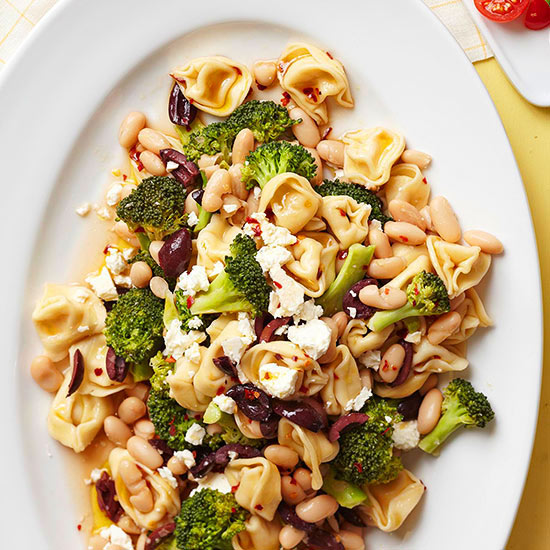 Whole Wheat Tortellini with Broccoli