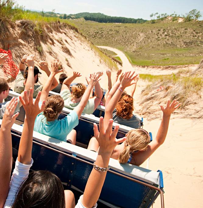 Saugatuck Dune Rides. Saugatuck, Michigan.
