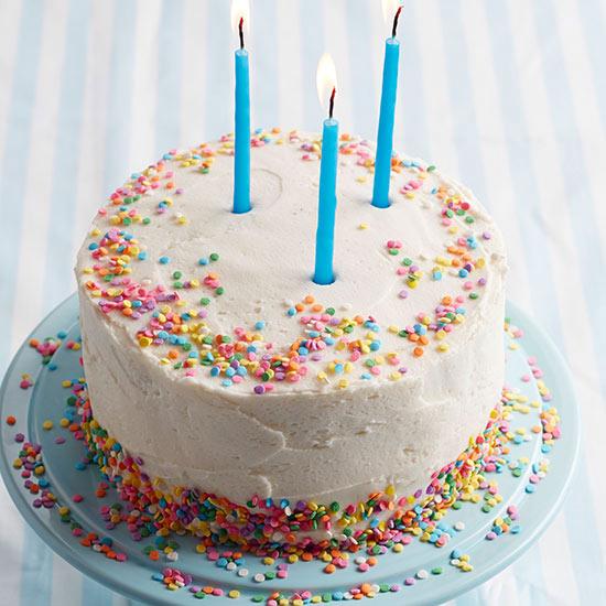 Wee White Layer Cake