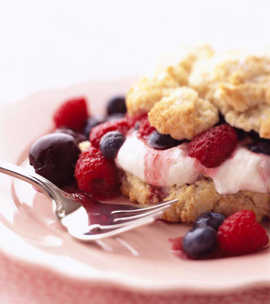 Cherry-Berry Rich Shortcakes