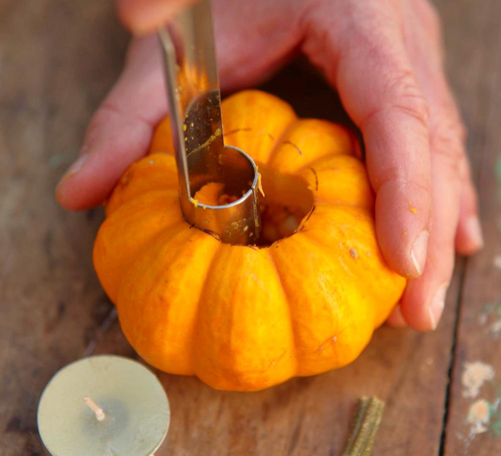 Step 2: Prep pumpkin