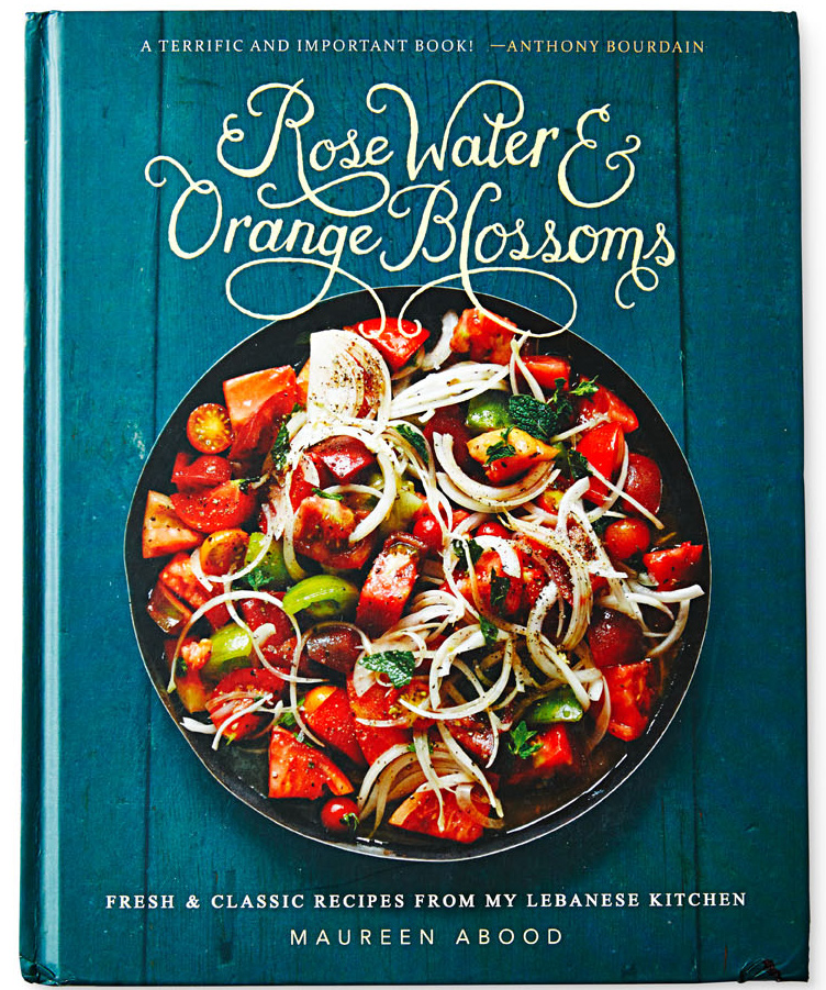 Rose Water & Orange Blossoms cookbook