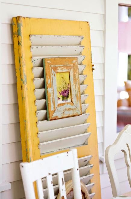 Turn shutters into art