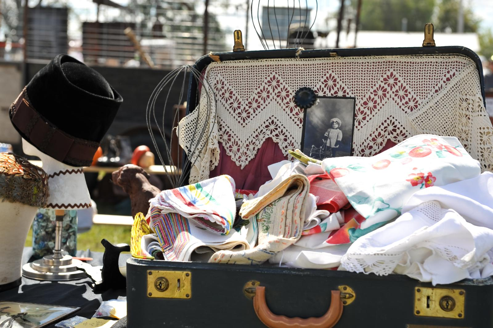 What Cheer's Collectors' Paradise Flea Market. Photo by Danyell Klein.