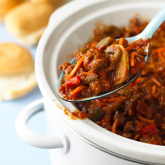 Spicy Beef Sloppy Joes