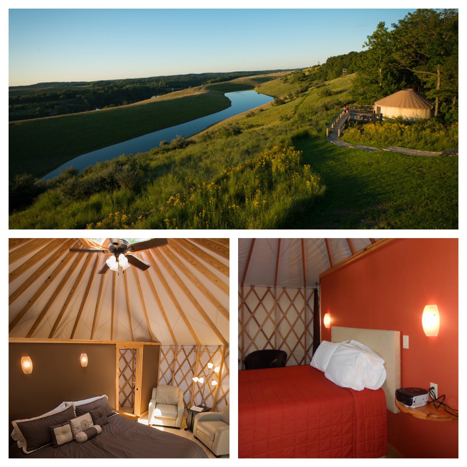 Yurts at The Wilds