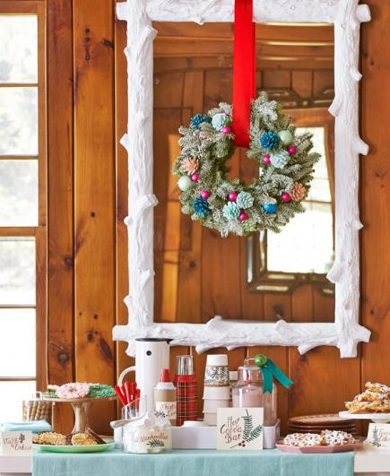 #1: Wreath crafting party