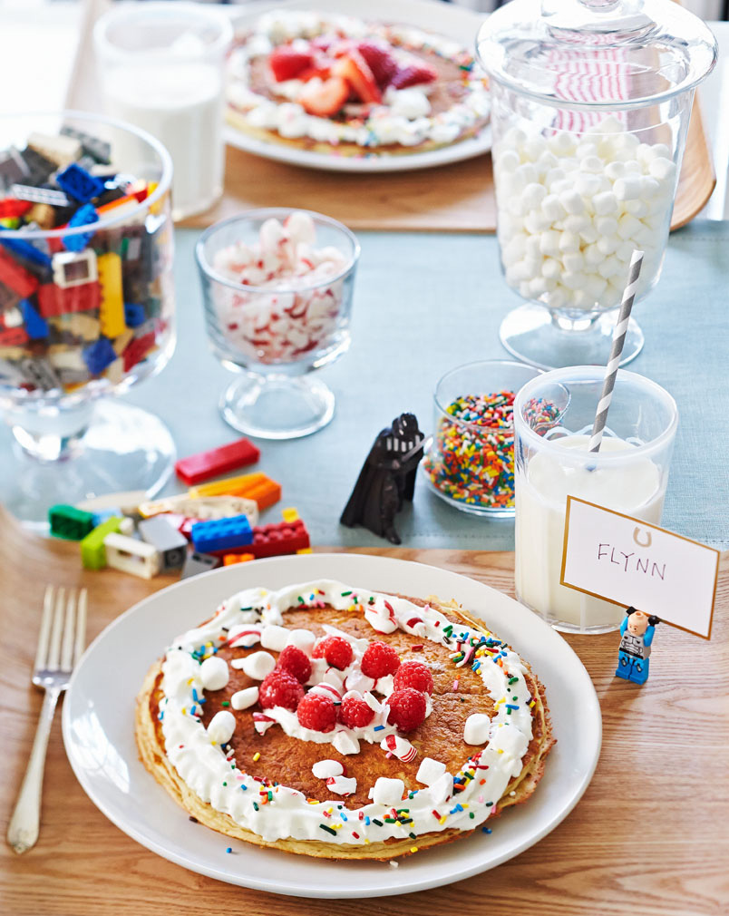 Kid-friendly brunch