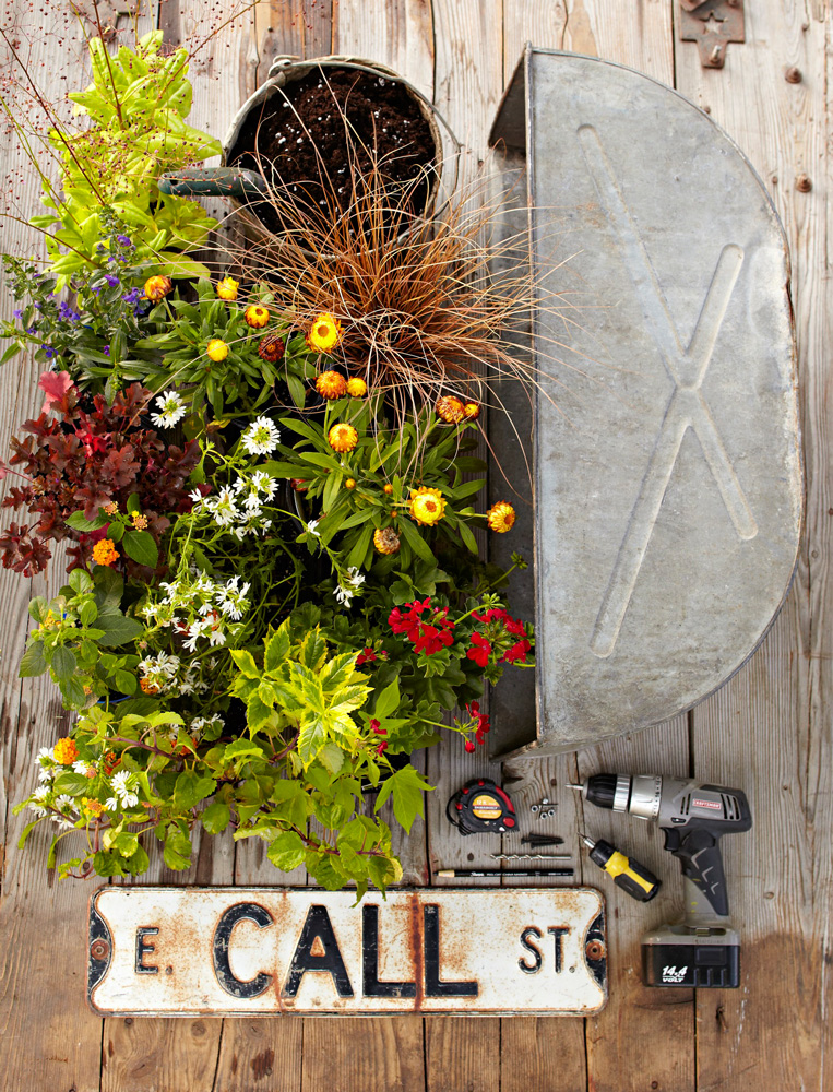 Window box materials