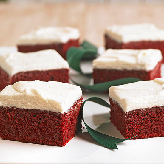 Red Velvet Buttermilk Brownies