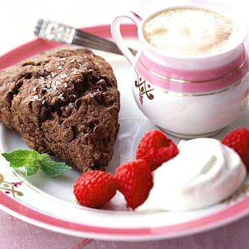 Double-Chocolate Scones