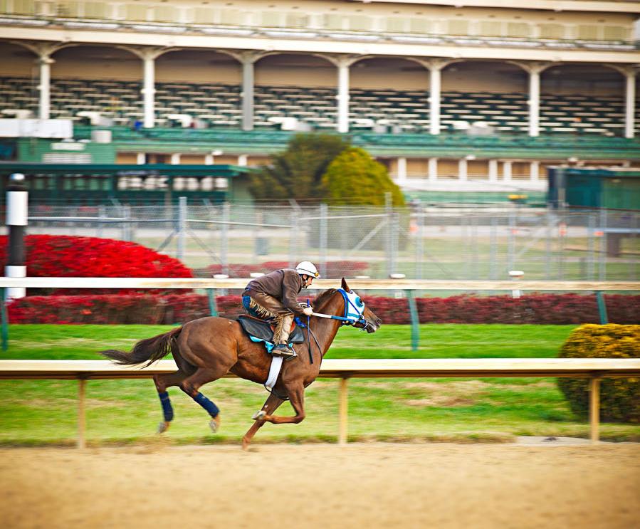 Kentucky Derby racetrack