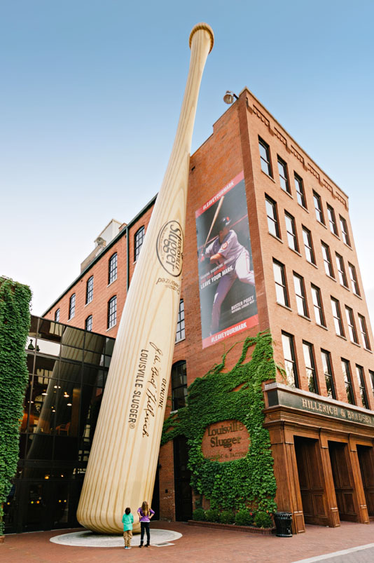 Louisville Slugger Museum and Factory