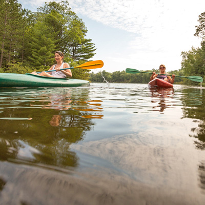 Go Kayaking Up North in Wisconsin