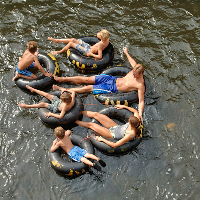 Try Tubing in Wisconsin Rivers