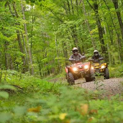 ATV Through the Wisconsin Northwoods