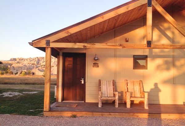 Badlands National Park cabin