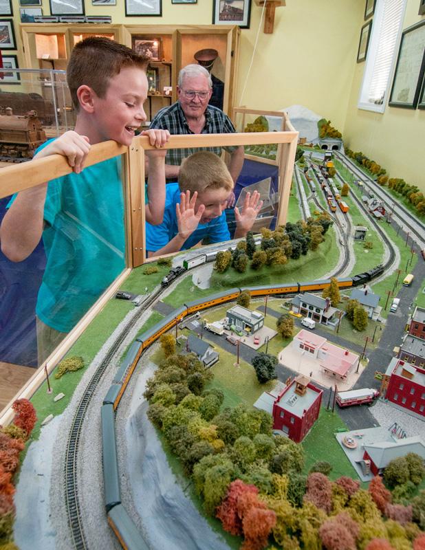 Great American Steam Locomotive Train Museum