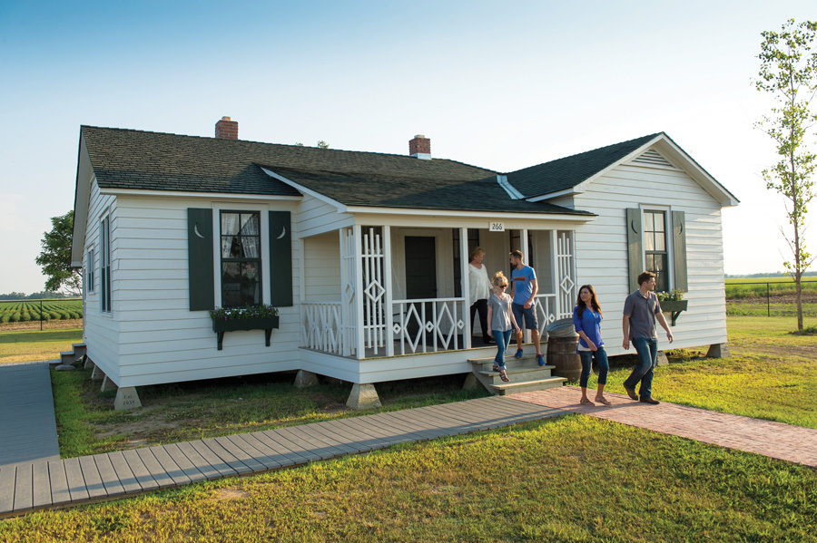 Johnny Cash's Boyhood Home
