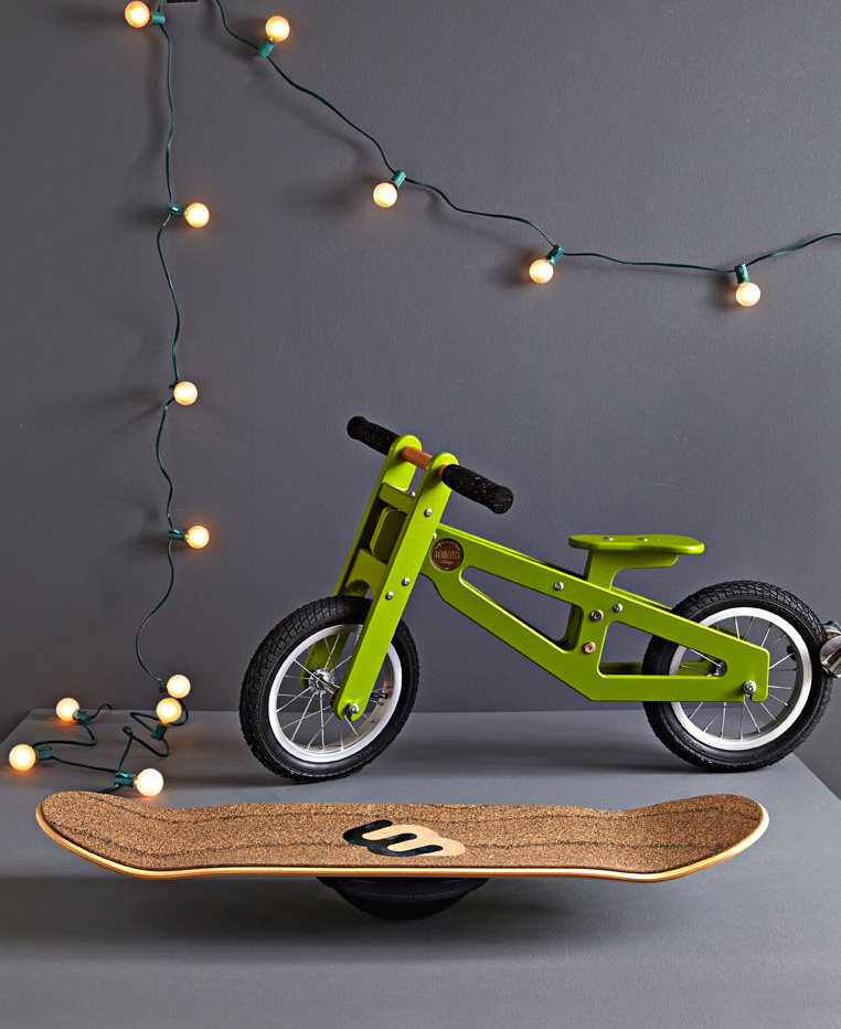 Heritage Bicycles bike and Whirly Board