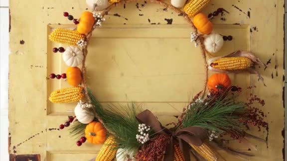 How To: Craft a Fall Wreath