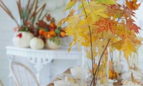One-Minute Inspiration: Fall Centerpieces