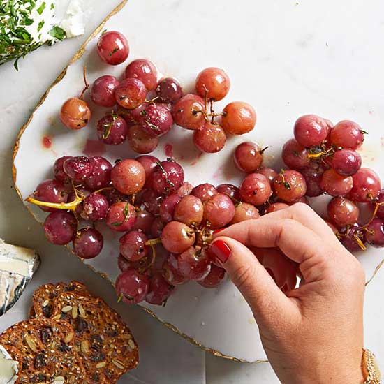 Thyme-Roasted Grapes