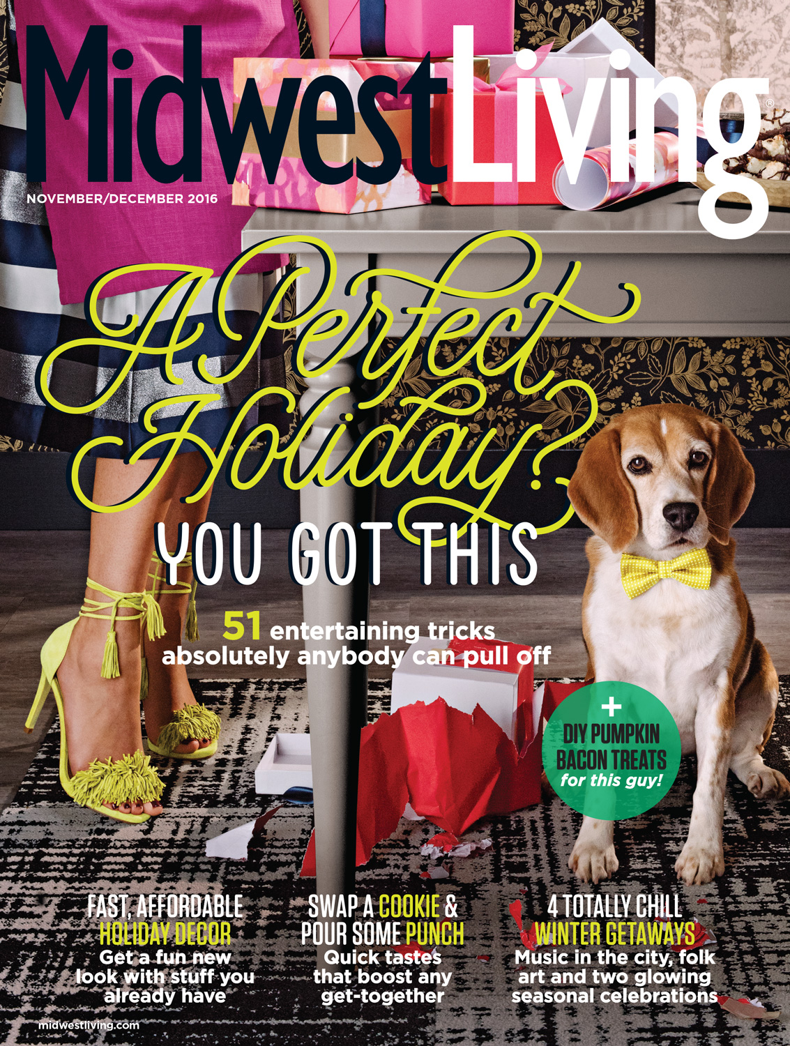 Midwest Living November-December 2016 Cover.