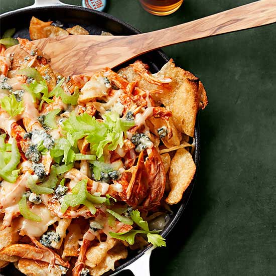 Loaded Buffalo Nachos