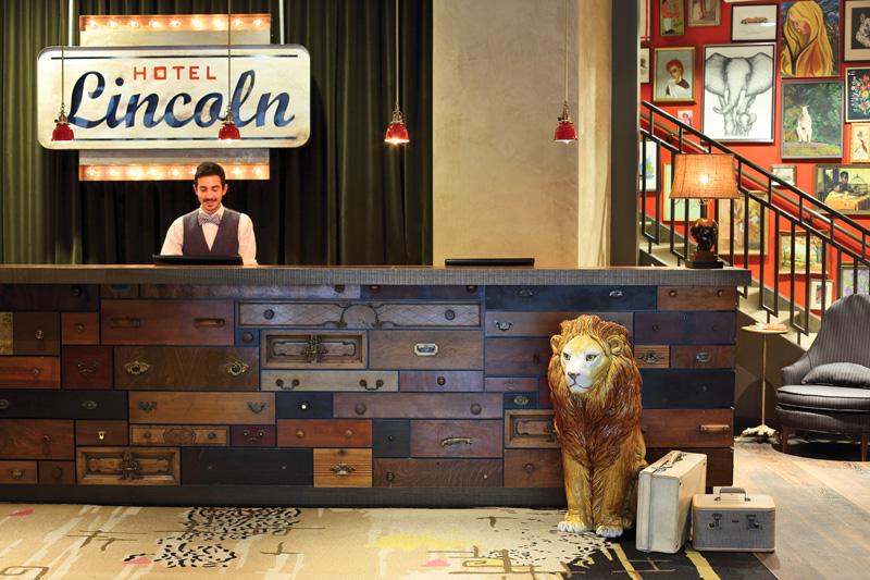 Photo courtesy of Hotel Lincoln.