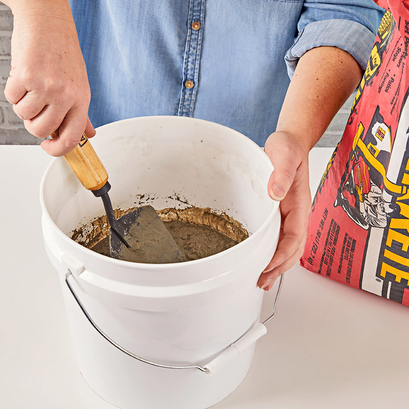Step 2: Prepare concrete