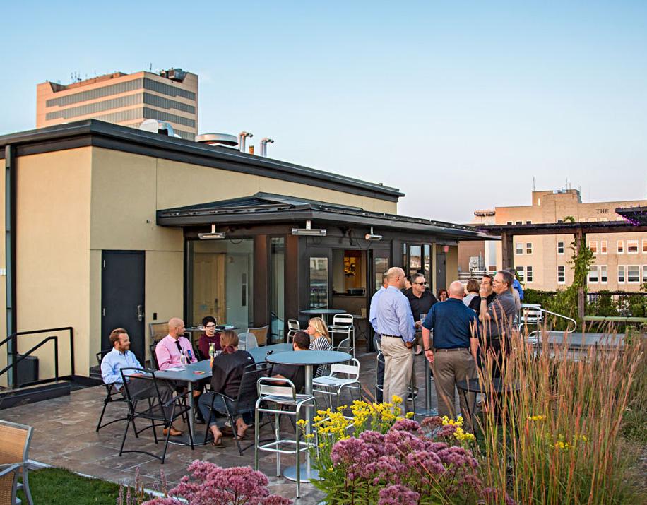 Hotel Donaldson rooftop bar
