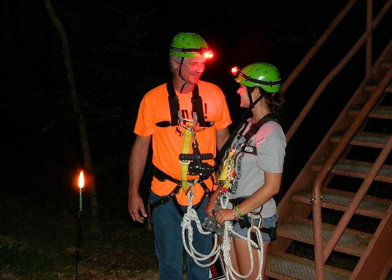 eXplore Brown County Ziplining