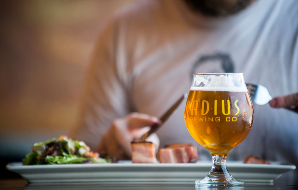 Radius Brewing Company, Emporia. Photo: Courtesy KDWPT