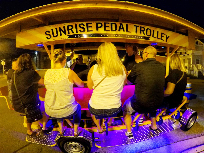 Sunrise Pedal Trolley