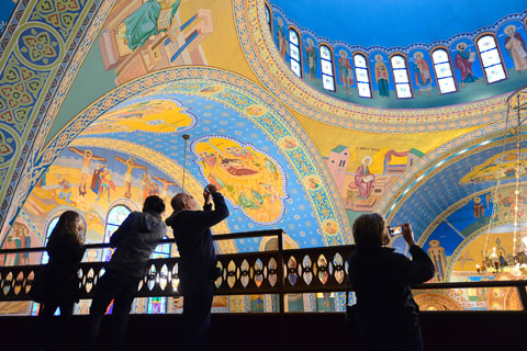 Sts. Volodymyr and Olha Ukrainian Catholic Church, a past tour favorite. Photo courtesy of Chicago Architecture Foundation.