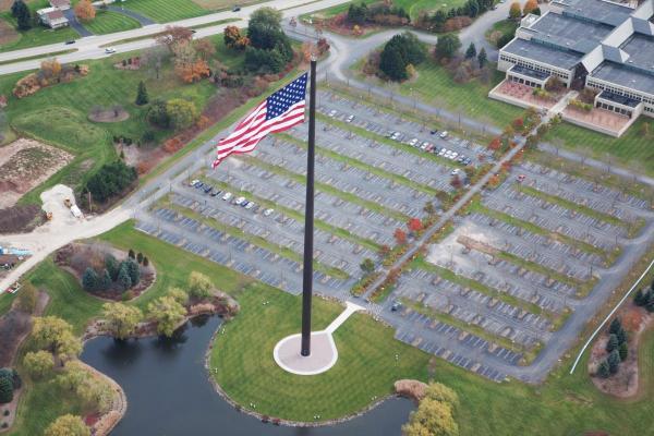 North America's Tallest Flagpole