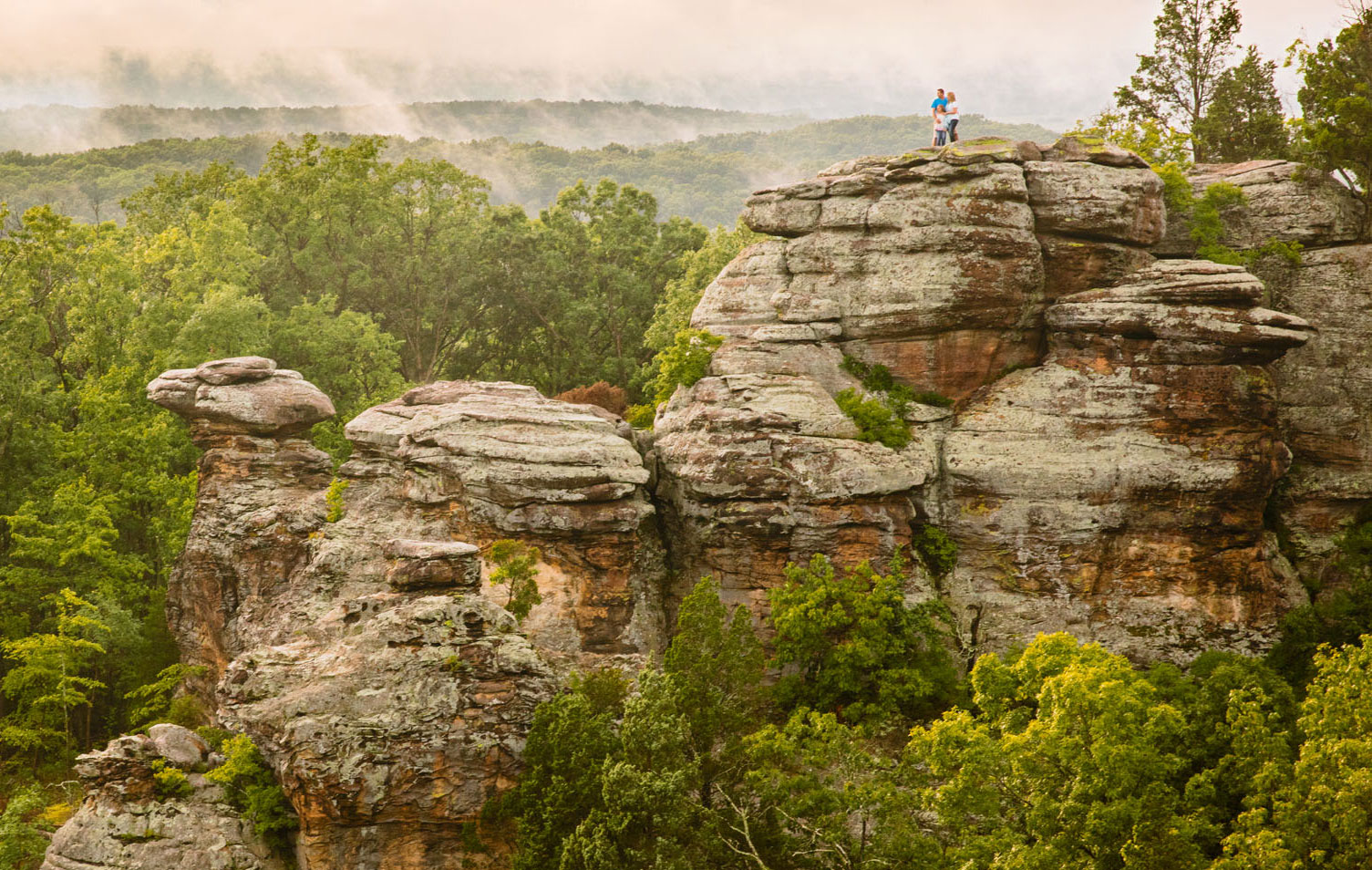 Garden of the Gods, Shawnee National Forest. Photo: Courtesy of IOT
