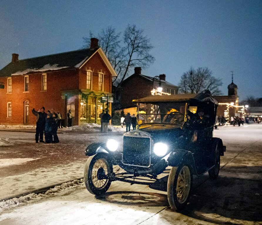Greenfield Village Christmas.Holiday Nights At Greenfield Village Midwest Living