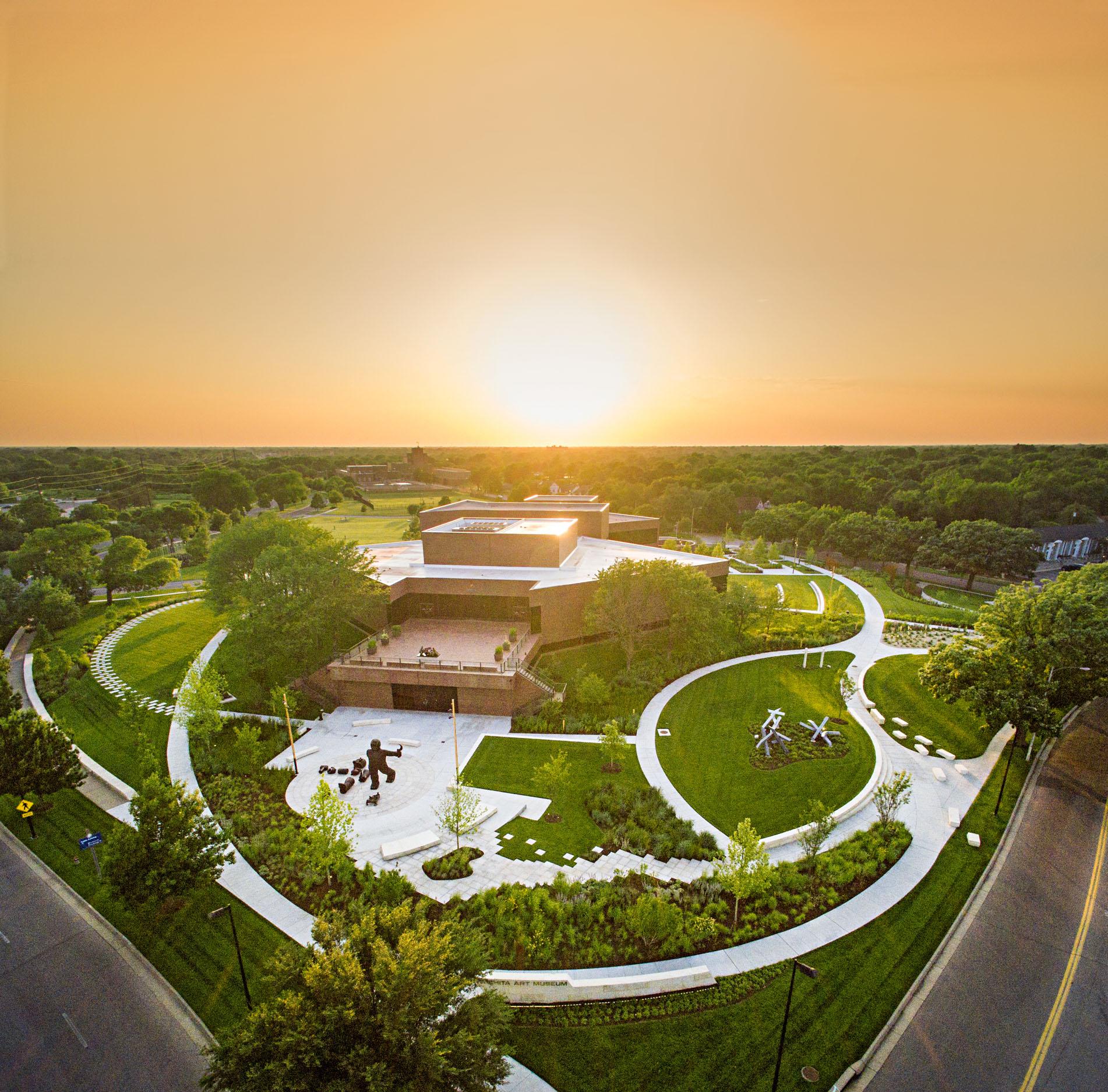 Wichita Art Museum's Art Garden