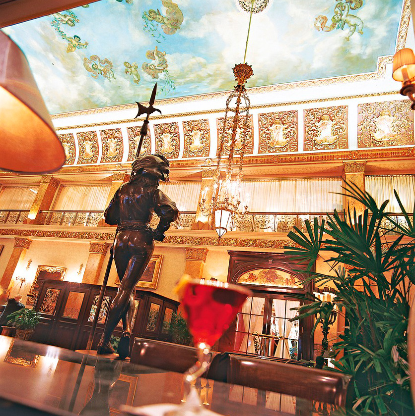 Pfister Hotel.