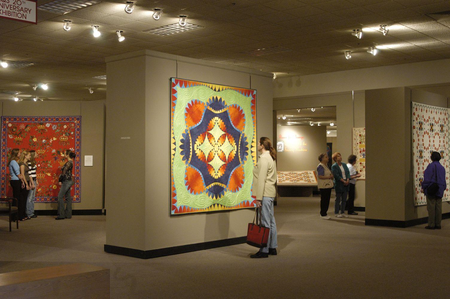The National Quilt Museum. Paducah, Kentucky.