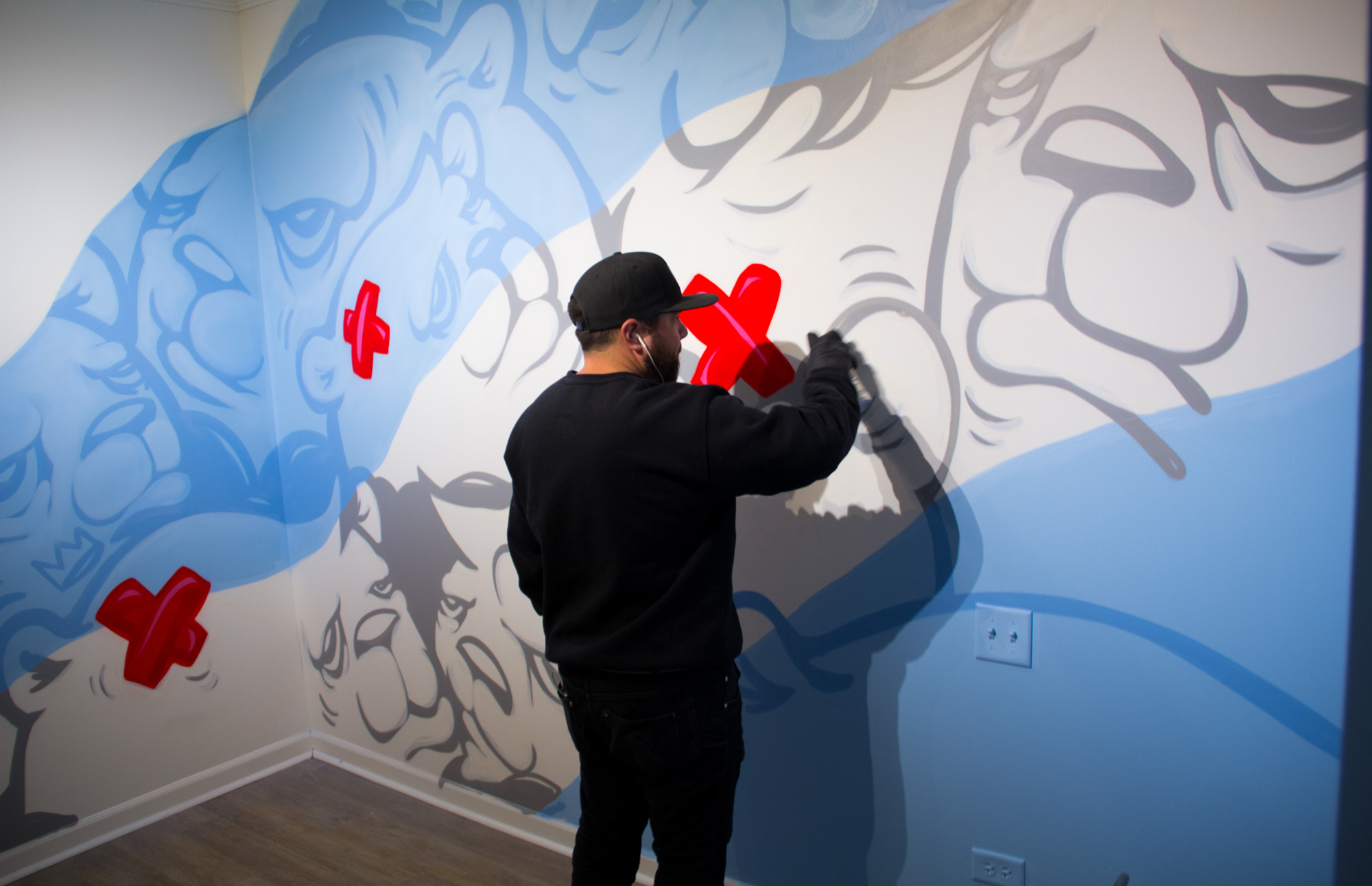 JC Rivera mural
